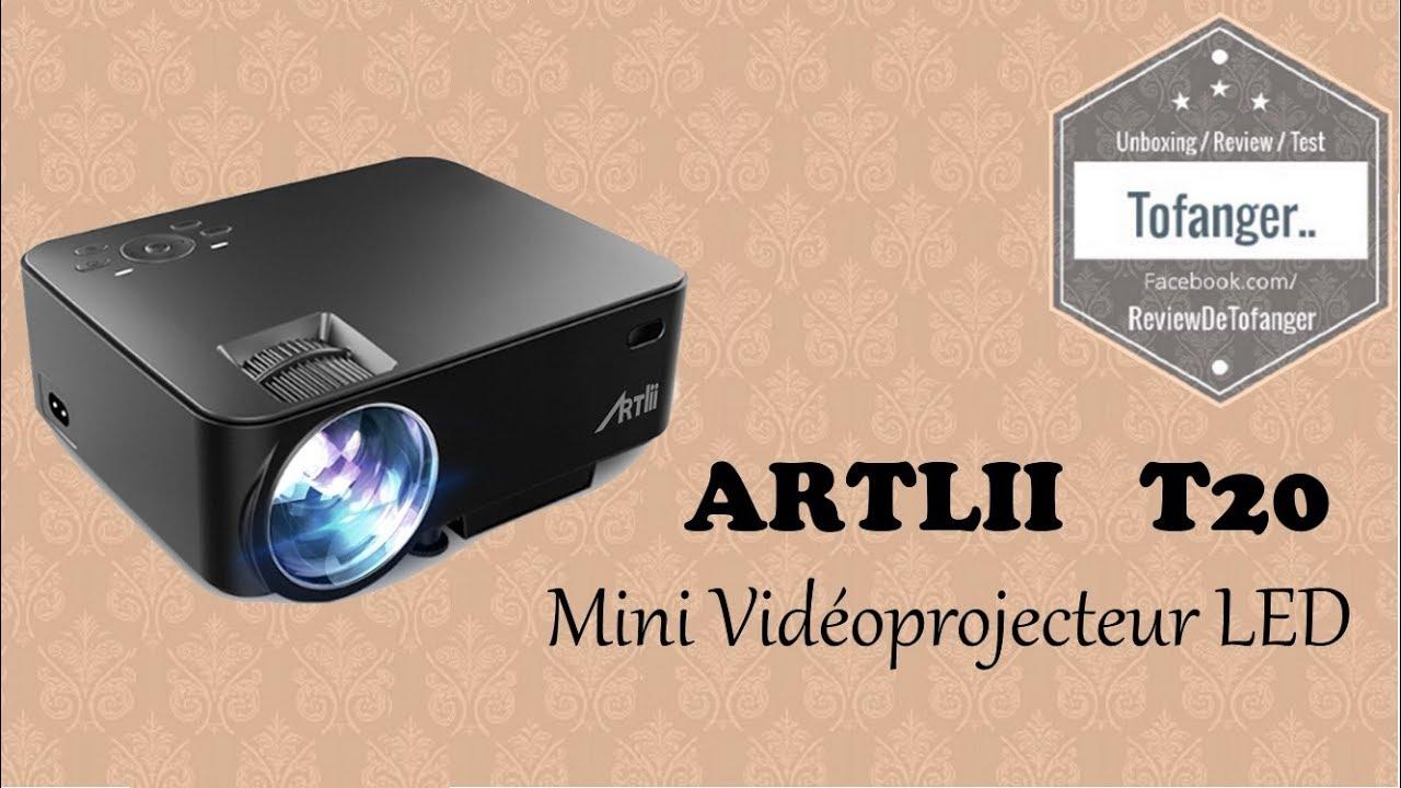 ▷ Meilleur Mini videoprojecteur artlii t20 • Avis • Comparatif !